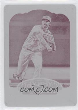 2012 Topps Gypsy Queen - [Base] - Printing Plate Magenta #291 - Jarrod Parker /1