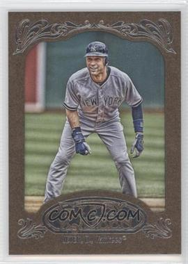 2012 Topps Gypsy Queen - [Base] - Retail Gold #100 - Derek Jeter