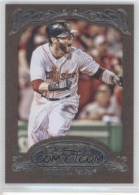 2012 Topps Gypsy Queen - [Base] - Retail Gold #143 - Dustin Pedroia