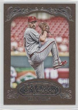 2012 Topps Gypsy Queen - [Base] - Retail Gold #170 - Cliff Lee