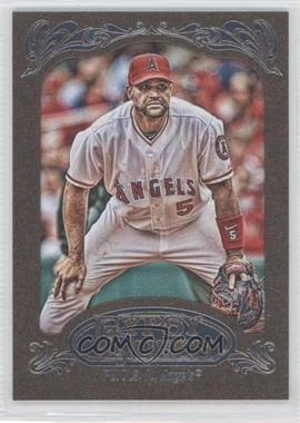 2012 Topps Gypsy Queen - [Base] - Retail Gold #180 - Albert Pujols