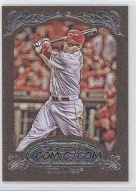 2012 Topps Gypsy Queen - [Base] - Retail Gold #220 - Joey Votto