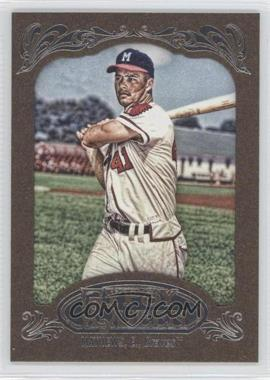 2012 Topps Gypsy Queen - [Base] - Retail Gold #228 - Eddie Mathews