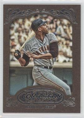 2012 Topps Gypsy Queen - [Base] - Retail Gold #246 - Willie McCovey
