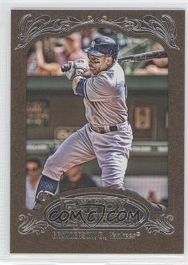 2012 Topps Gypsy Queen - [Base] - Retail Gold #260 - Curtis Granderson