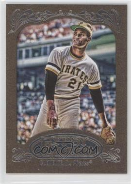 2012 Topps Gypsy Queen - [Base] - Retail Gold #270 - Roberto Clemente