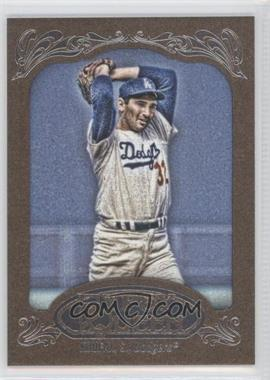 2012 Topps Gypsy Queen - [Base] - Retail Gold #290 - Sandy Koufax
