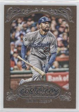 2012 Topps Gypsy Queen - [Base] - Retail Gold #44 - Matt Kemp