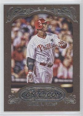 2012 Topps Gypsy Queen - [Base] - Retail Gold #83 - Ryan Howard