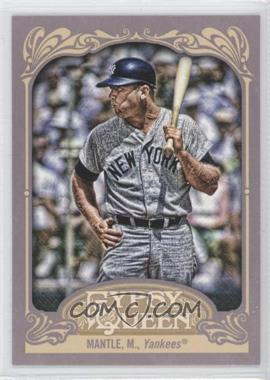2012 Topps Gypsy Queen - [Base] #120.2 - Mickey Mantle (Batting)