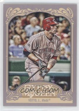 2012 Topps Gypsy Queen - [Base] #220.2 - Joey Votto (Letting Go of Bat)