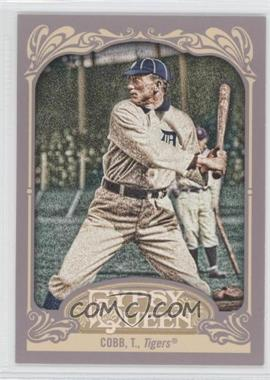 2012 Topps Gypsy Queen - [Base] #229.1 - Ty Cobb (Batting)