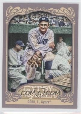 2012 Topps Gypsy Queen - [Base] #229.2 - Ty Cobb (Posing in Dugout)