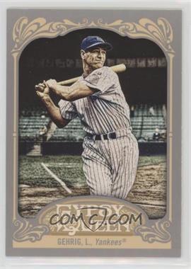 2012 Topps Gypsy Queen - [Base] #236.2 - Lou Gehrig (Pinstripe Uniform)
