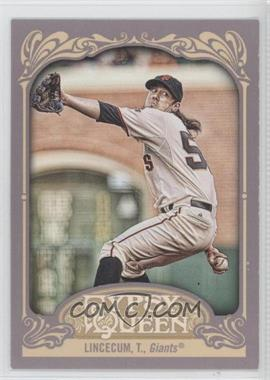 2012 Topps Gypsy Queen - [Base] #240.2 - Tim Lincecum (Wall in Background)