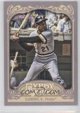 2012 Topps Gypsy Queen - [Base] #270.2 - Roberto Clemente (Batting)