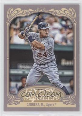 2012 Topps Gypsy Queen - [Base] #50.2 - Miguel Cabrera (Batting)