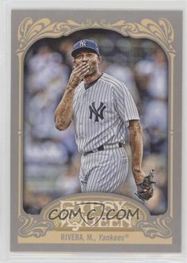 2012 Topps Gypsy Queen - [Base] #54.2 - Mariano Rivera (Blowing Kiss)