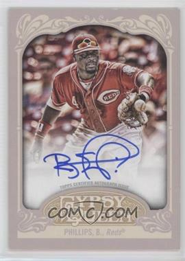 2012 Topps Gypsy Queen - Certified Autograph - [Autographed] #GQA-BP - Brandon Phillips
