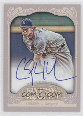 2012 Topps Gypsy Queen - Certified Autograph - [Autographed] #GQA-CK - Clayton Kershaw
