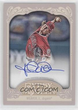 2012 Topps Gypsy Queen - Certified Autograph - [Autographed] #GQA-JW - Jered Weaver