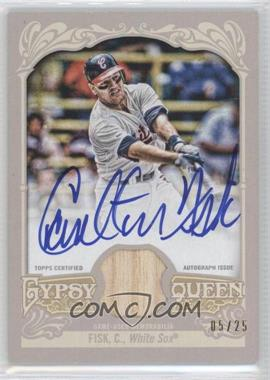2012 Topps Gypsy Queen - Certified Autograph Relics - [Autographed] #GQAR-CF - Carlton Fisk /25