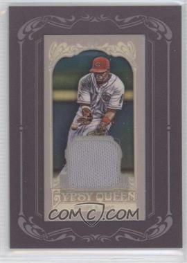 2012 Topps Gypsy Queen - Framed Mini Relic #GQMR-BP - Brandon Phillips