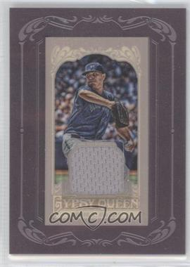2012 Topps Gypsy Queen - Framed Mini Relic #GQMR-RR - Ricky Romero