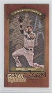 2012 Topps Gypsy Queen - Glove Stories - Minis #GS-JH - Josh Hamilton