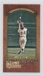 2012 Topps Gypsy Queen - Glove Stories - Minis #GS-WM - Willie Mays