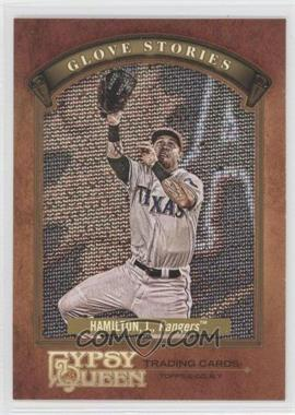 2012 Topps Gypsy Queen - Glove Stories #GS-JH - Josh Hamilton