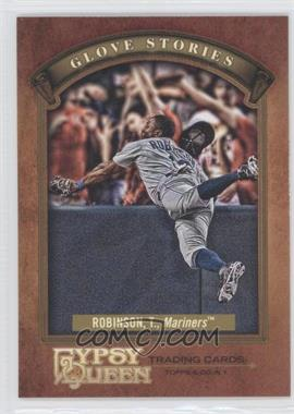 2012 Topps Gypsy Queen - Glove Stories #GS-TR - Trayvon Robinson