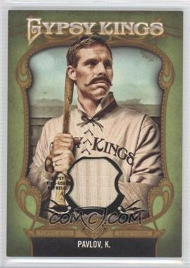 2012 Topps Gypsy Queen - Gypsy Kings Relics #GKR-5 - King Pavlov /25