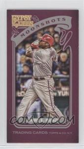2012 Topps Gypsy Queen - Moonshots - Minis #MS-RH - Ryan Howard