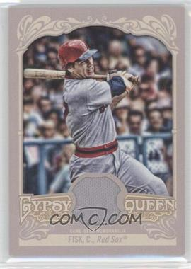 2012 Topps Gypsy Queen - Relics #GQR-CF - Carlton Fisk