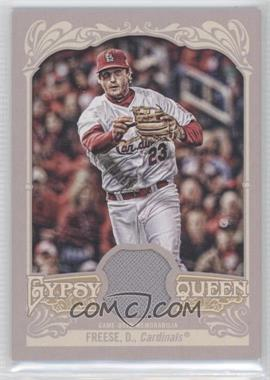 2012 Topps Gypsy Queen - Relics #GQR-DF - David Freese