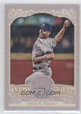 2012 Topps Gypsy Queen - Relics #GQR-MR - Mariano Rivera