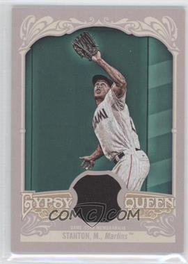 2012 Topps Gypsy Queen - Relics #GQR-MS - Giancarlo Stanton
