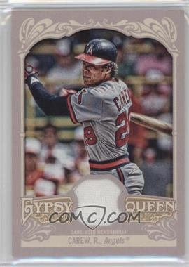 2012 Topps Gypsy Queen - Relics #GQR-RC - Rod Carew
