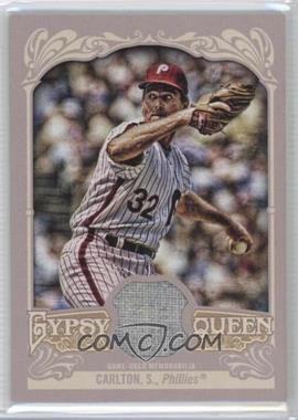 2012 Topps Gypsy Queen - Relics #GQR-SC - Steve Carlton