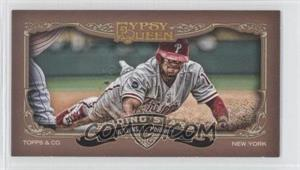 2012 Topps Gypsy Queen - Sliding Stars - Minis #SS-JRO - Jimmy Rollins