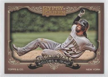 2012 Topps Gypsy Queen - Sliding Stars #SS-AM - Andrew McCutchen