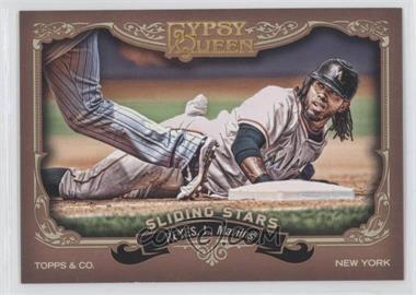 2012 Topps Gypsy Queen - Sliding Stars #SS-JR - Jose Reyes