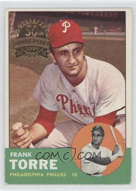 2012 Topps Heritage - 1963 Topps Buybacks #161 - Frank Torre