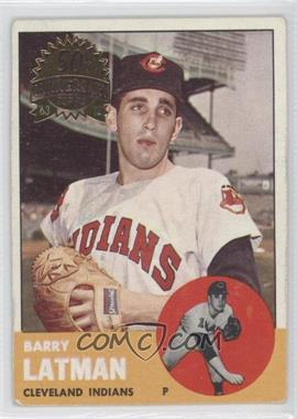 2012 Topps Heritage - 1963 Topps Buybacks #426 - Barry Latman