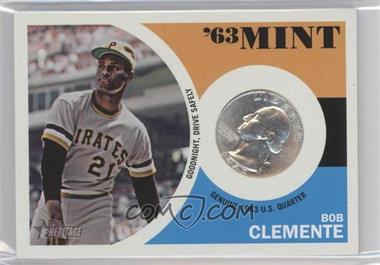 2012 Topps Heritage - '63 Mint #63RC - Roberto Clemente