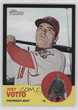 2012 Topps Heritage - [Base] - Black #HP6 - Joey Votto