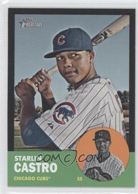 2012 Topps Heritage - [Base] - Black #HP80 - Starlin Castro