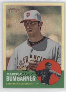 2012 Topps Heritage - [Base] - Chrome Refractor #HP66 - Madison Bumgarner /563