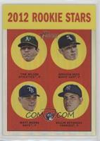 2012 Rookie Stars (Tom Milone, Addison Reed, Matt Moore, Dellin Betances) /563